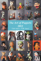 『The Art of Puppets 2012』
